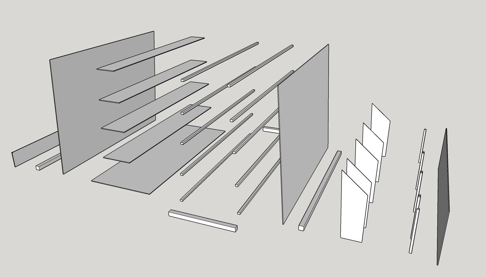 Holzwagen_Explosionszeichnung